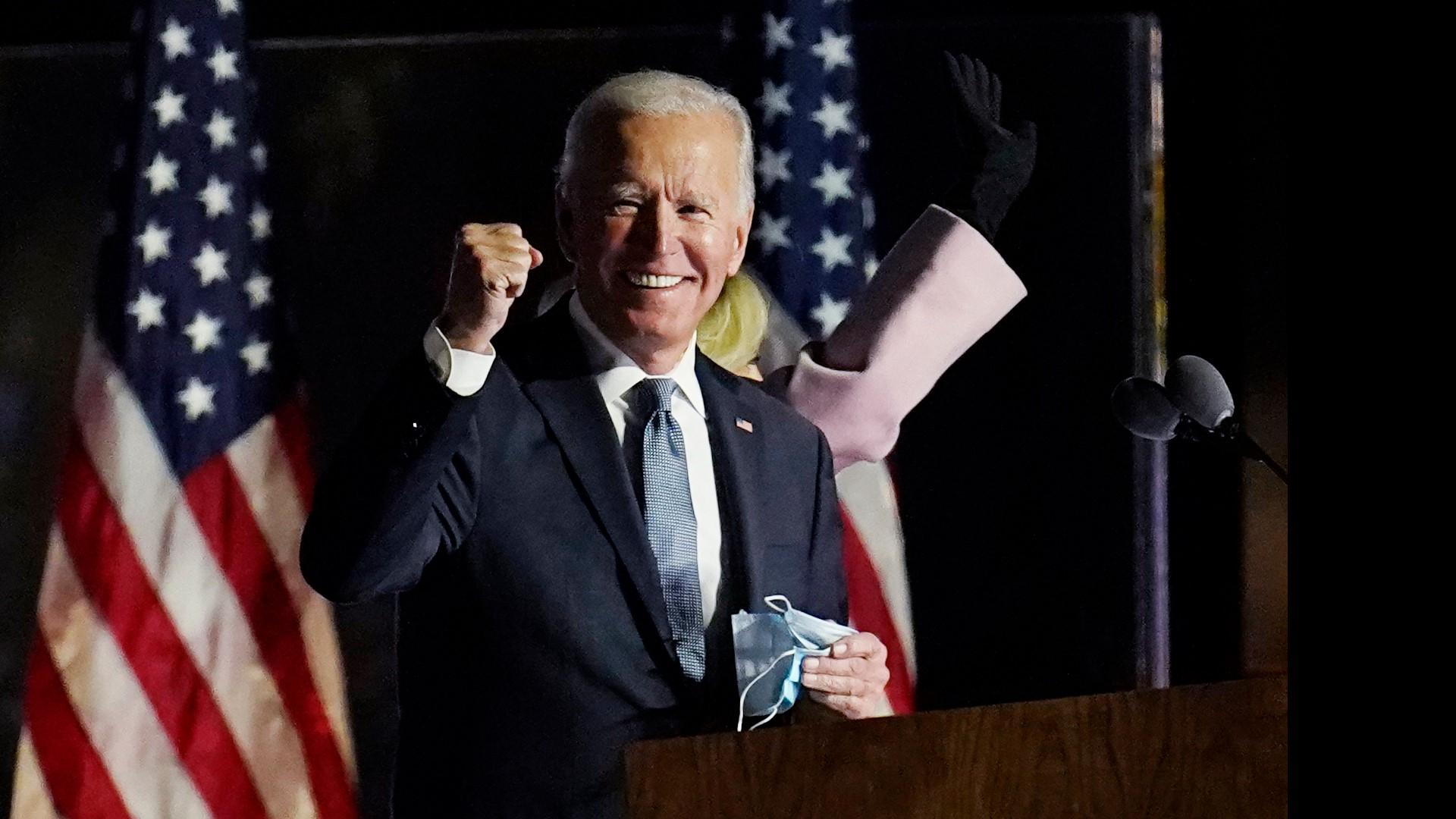 Biden's First Speech As President - [Watch Video]. 1
