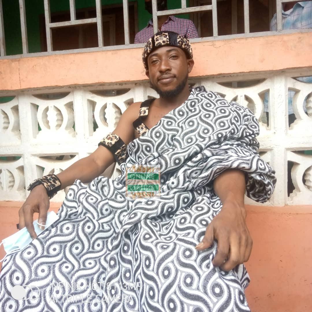 Popular Ghanaian musician enstooled as Gyaasehene [Video] 3
