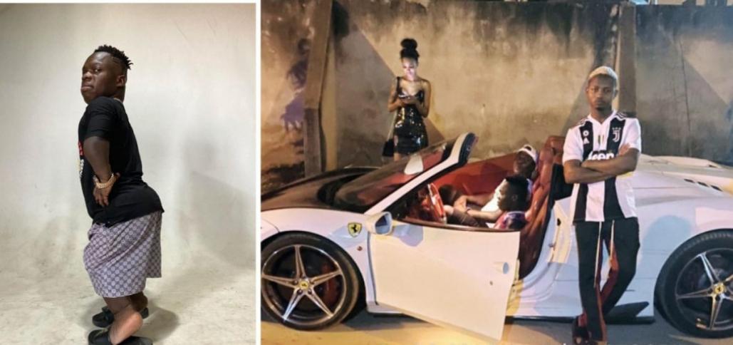 Shatta Bandle buys a brand new Ferrari for his girlfriend 1