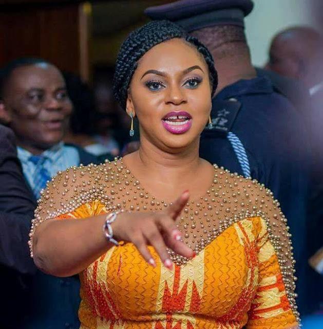 Adwoa Safo reverses decision to sack School feeding Boss. 50