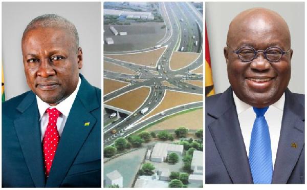 Tema Motorway Interchange: Mahama or Akufo-Addo legacy? - Here are the bare facts 1