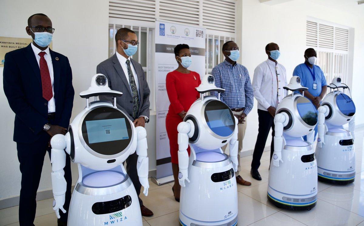 Rwanda Deploys Robots To Treat Covid-19 Patients 1