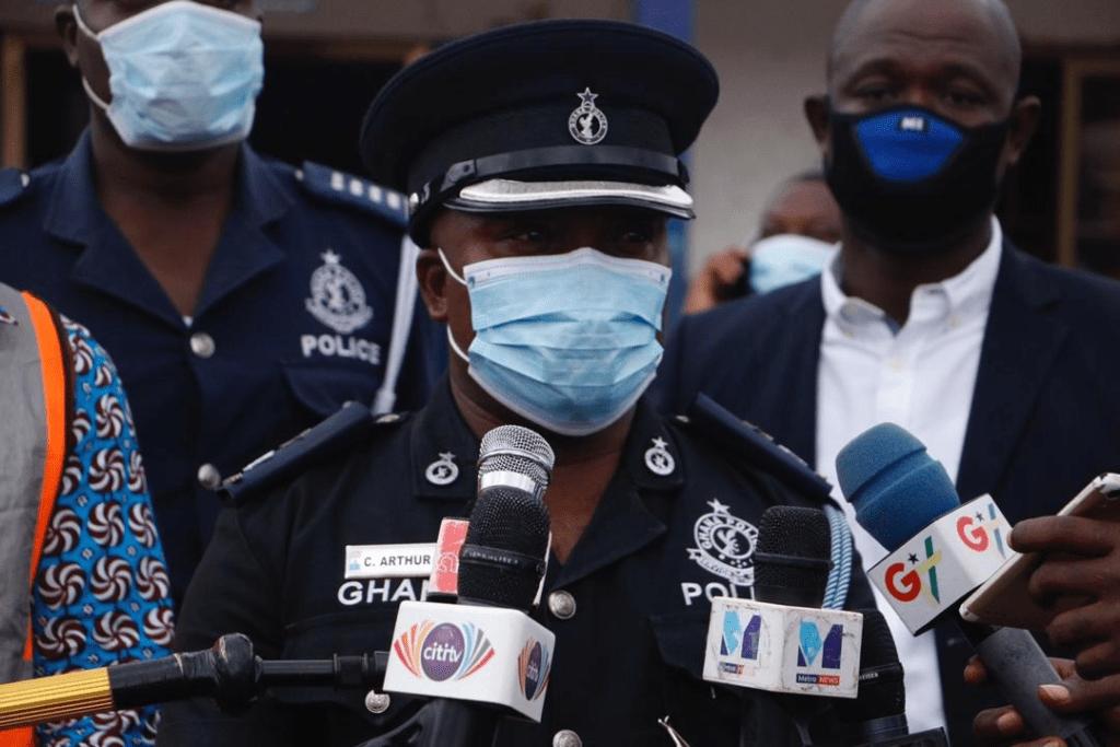 Coronavirus: Dansoman police await test results 1