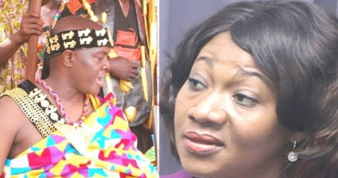 Jean Mensa is a disrespectful girl – Dormaahene Nana Agyemang Badu blasts 1
