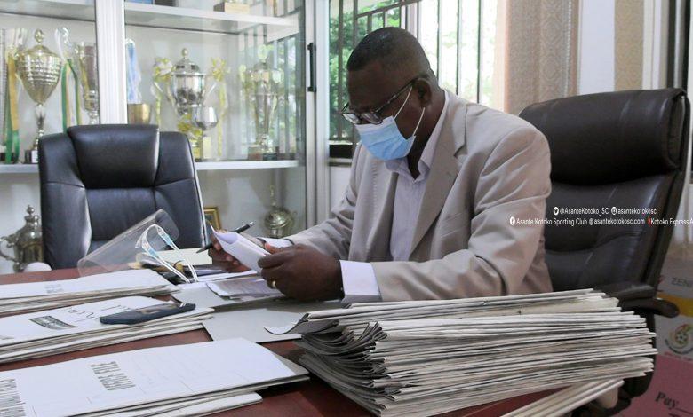 Acting Asante Kotoko CEO reveals  Deplorable state of club's secretariat (Read) 1