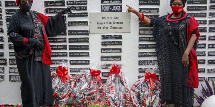 Ghana Unveils John Lewis' Name On The Sankofa Memorial Wall 5