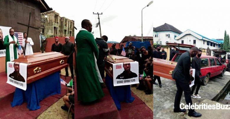 Late George Floyd reburied in Nigeria