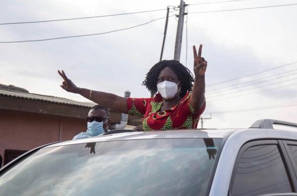 Rousing welcome for Naana Opoku-Agyemang in Komenda as campaign kicks off 1