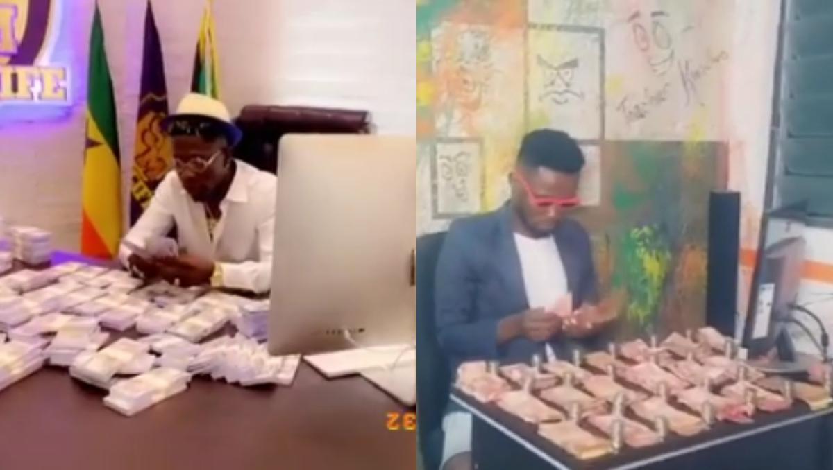 "Video: ""Hide your Chicken Change, I am the real Money man"" Teacher Kwadwo Challenges Shatta Wale 3"