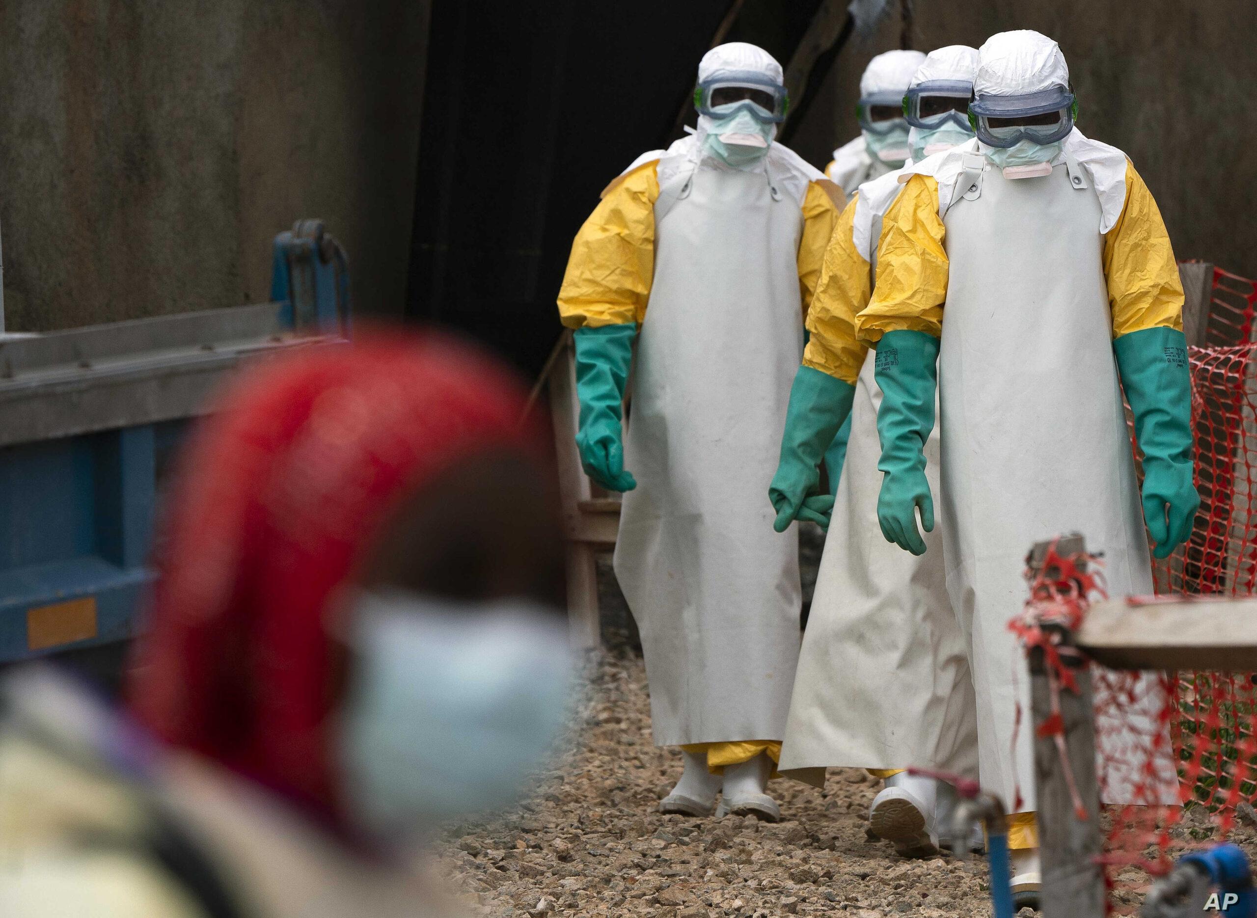 Ebola Virus Cases Skyrocket. 7