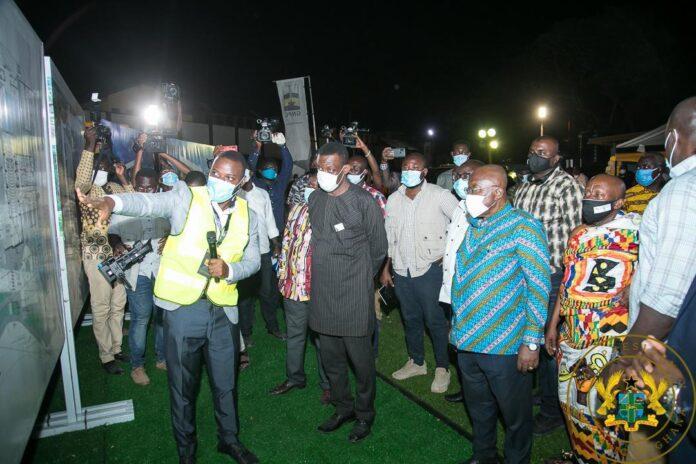 Construction of GNPC operational headquarters starts in Takoradi 1