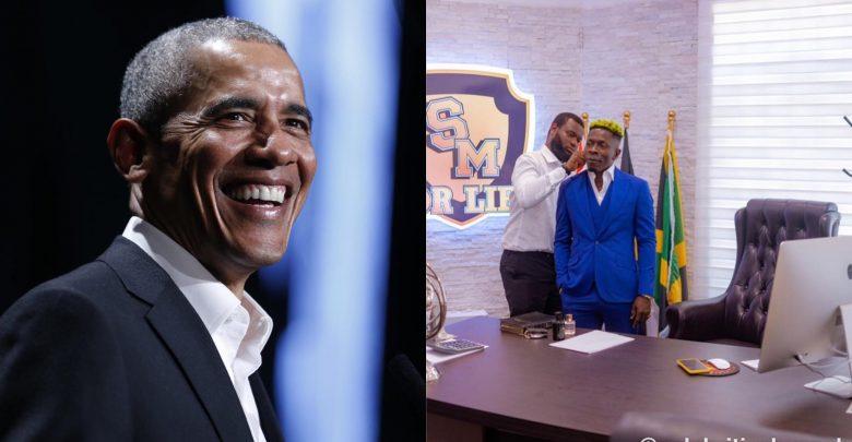 Shatta Wale Is My Favorite African Artiste, Barack Obama. 5