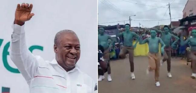 "Ex Prez Mahama Ignores Shatta Wale, congratulates Ghana's dance crew ""DwpAcademy"", in Beyonce's ""Already"" video 3"