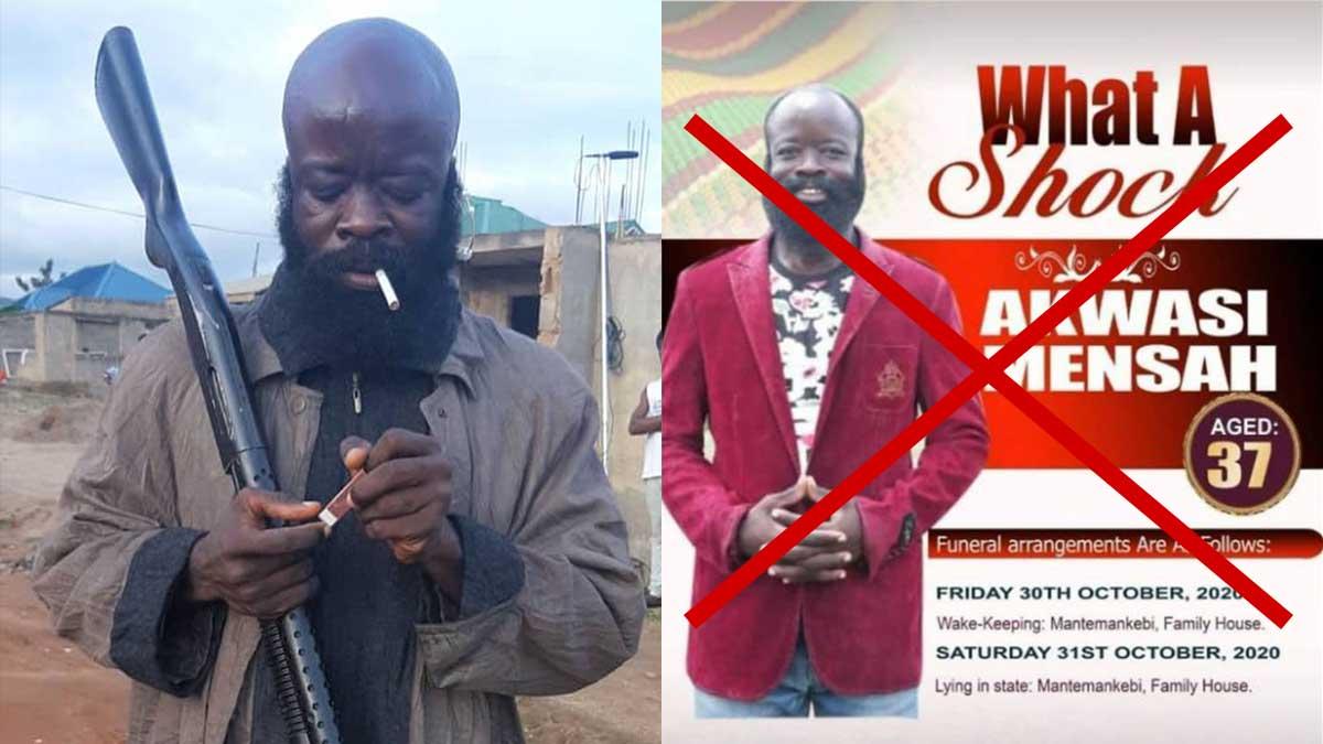 Just In: Kumawood Actor; Sekyere Amankwaa In Police Custody. 1
