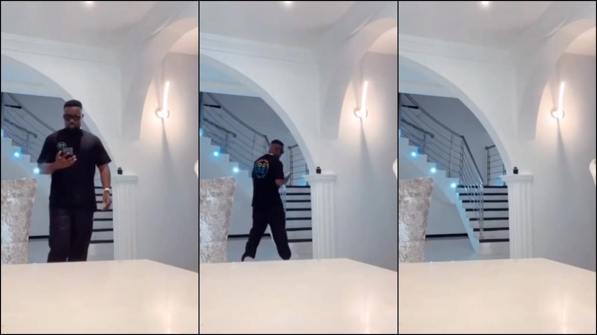 Video Of Sarkodie's Luxurious Multimillion Dollar Mansion Leaked Online. 1