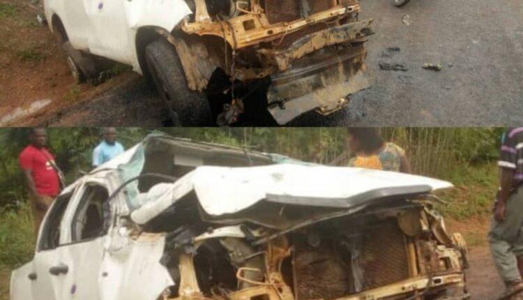 GH₵500,000 Stolen In Madrush For Cash As Bullion Van Crash Kills One 1