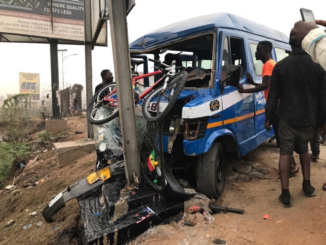 5 Mortuary Men Involved In A Gory Accident In The Volta Region. 1