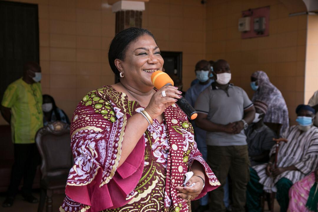 Vote massively for NPP to do more – Rebecca Akufo-Addo to Adentan constituents 9