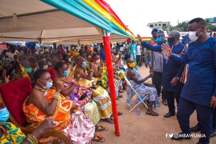 Bawumia inaugurates new Western Region House of Chiefs 1