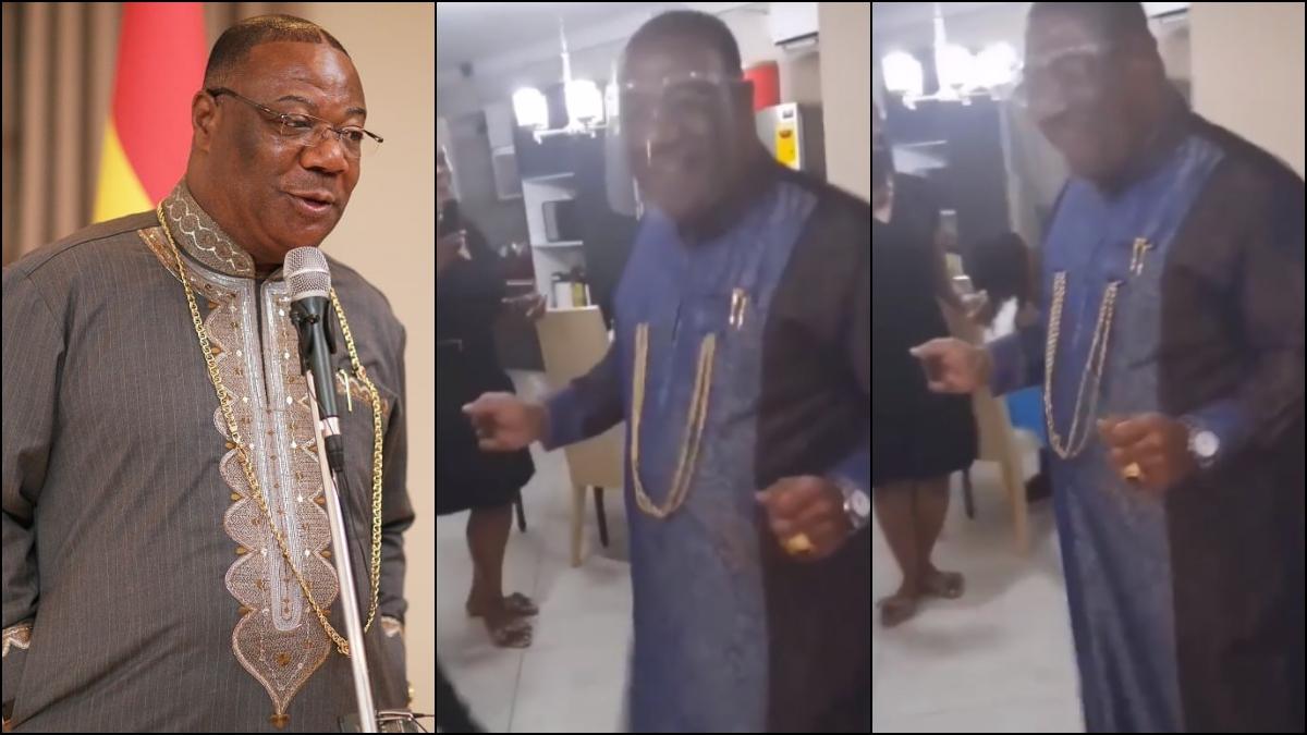 "Video Of Archbishop Nicholas Duncan-Williams Jamming To Bless ""Chocho Mu Cho"" Goes Viral. 1"