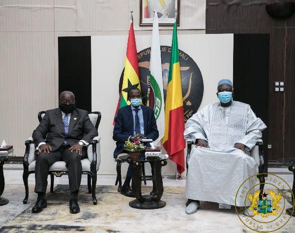 Mali's Interim President grateful for Akufo-Addo's intervention 46