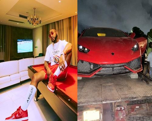 Video: Davido Flaunts His Brand New Multimillion Naira Lamborghini. 5