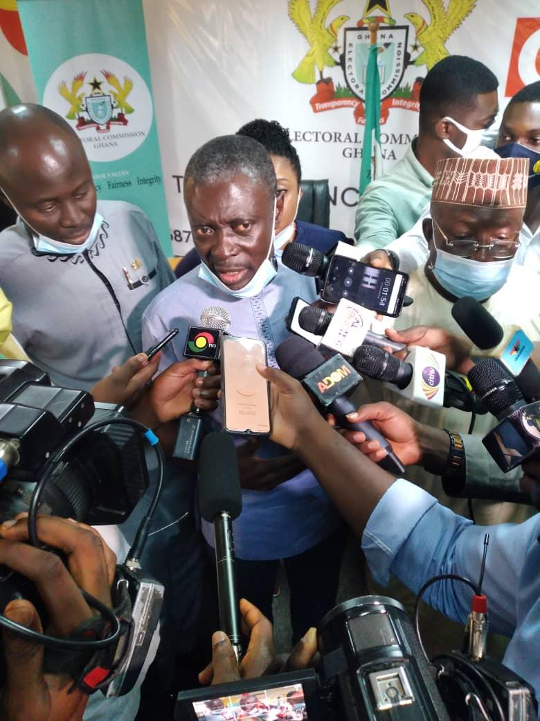 Sofo Kyiriabossom files nomination to contest 2020 Elections 1