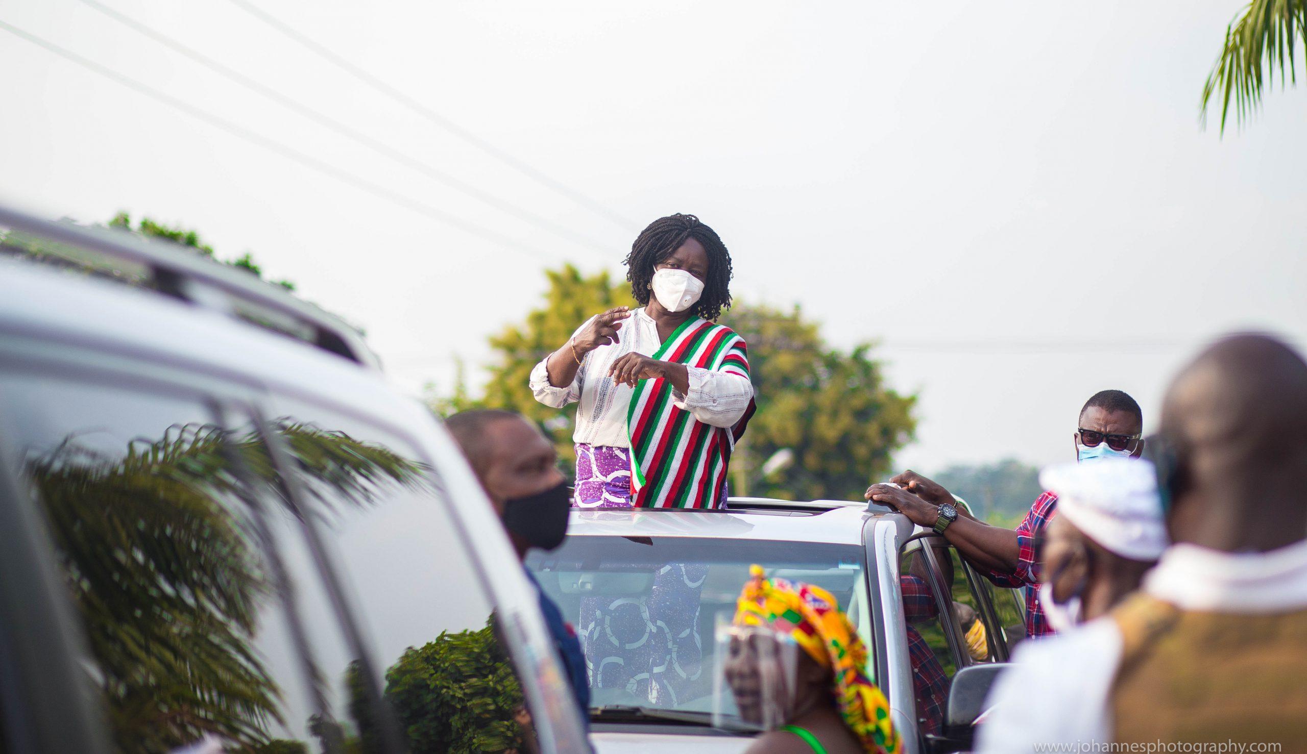 Mahama Is Committed To Growing Ghana's Economy And Improving Livelihoods – Naana Opoku Agyemang. 1