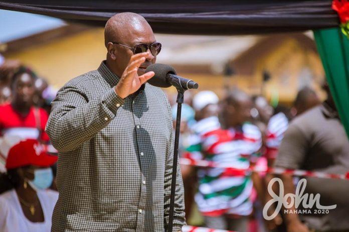 Akufo-Addo's 'vortex' swallowing Ghana's money – Mahama 1