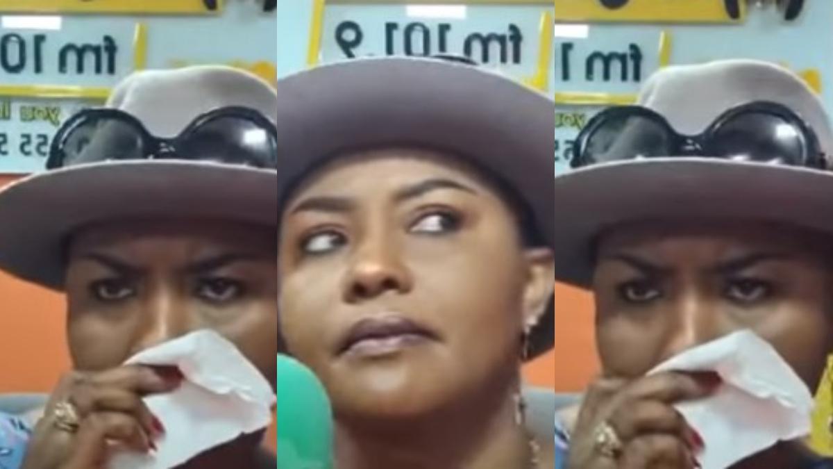 Nana Ama Mcbrown Cries Like A Baby While Reacting To Selly Galley's Barren Saga 1