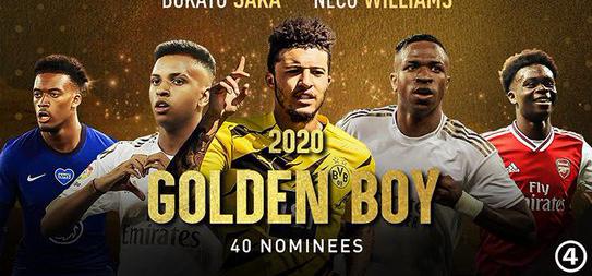 Full List Of Golden Boy 2020 Award Nominees. 1