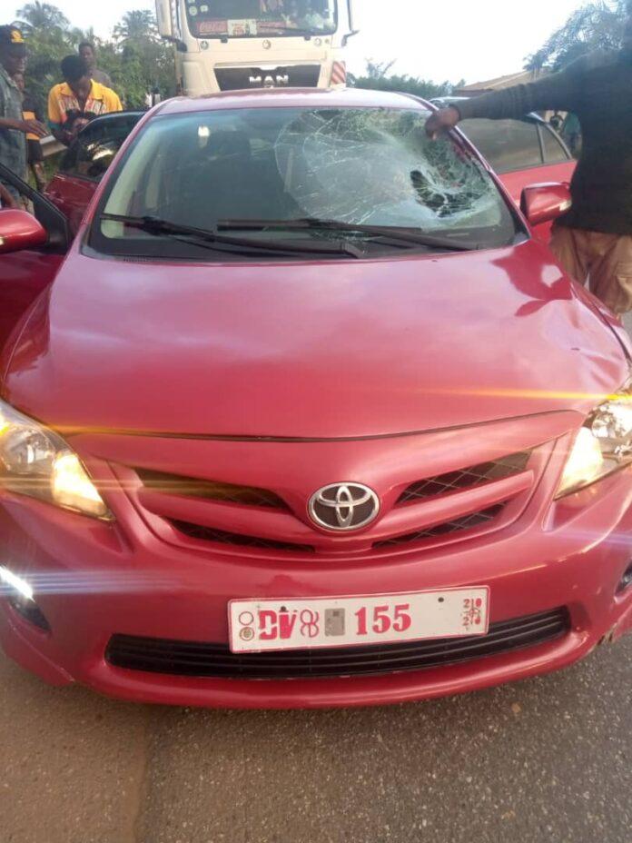 Akyem Osino: Man, 37, killed by speeding vehicle 1