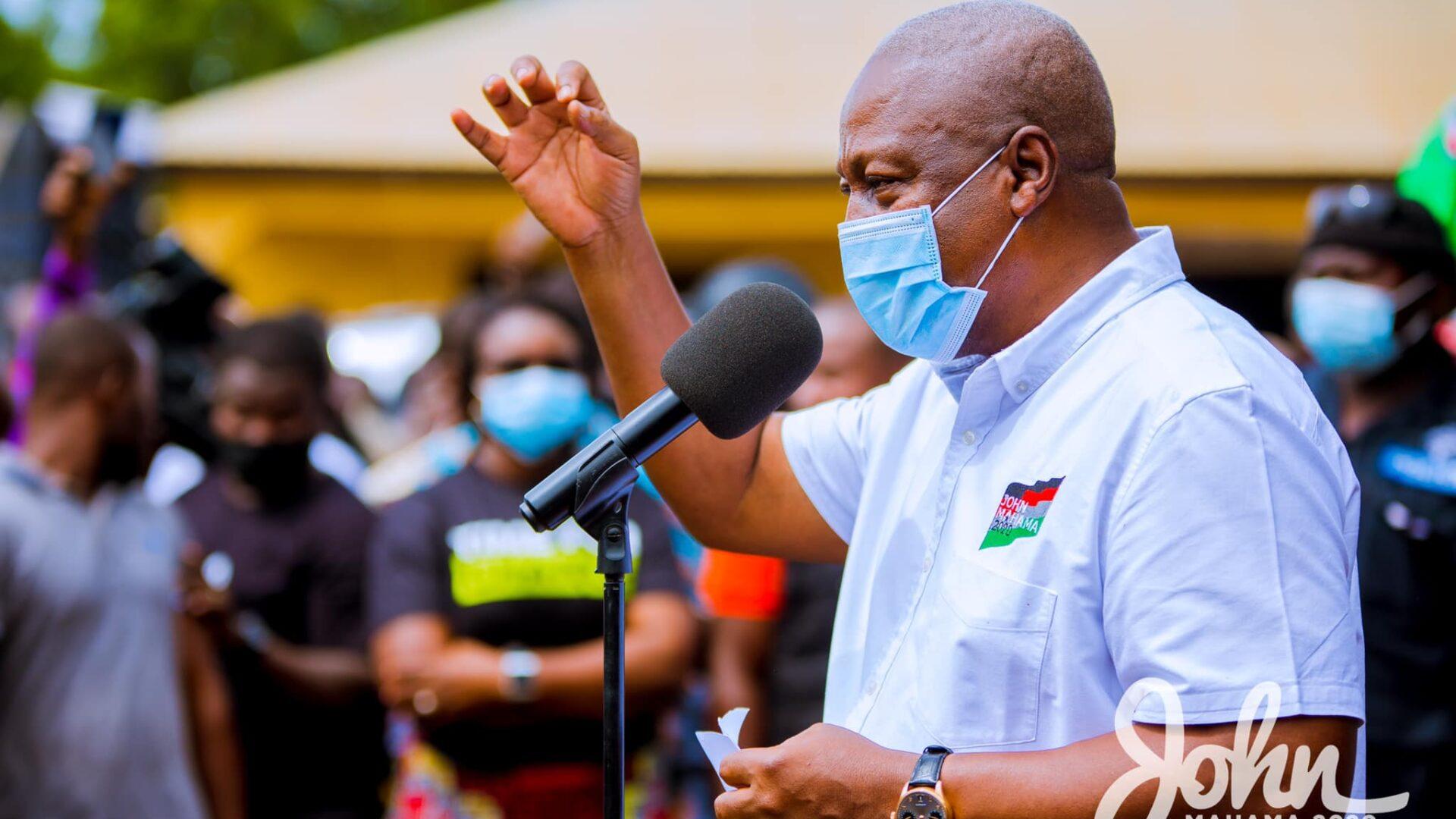 I'll prosecute Akufo-Addo's appointees over Agyapa deal if I win polls – Mahama 1