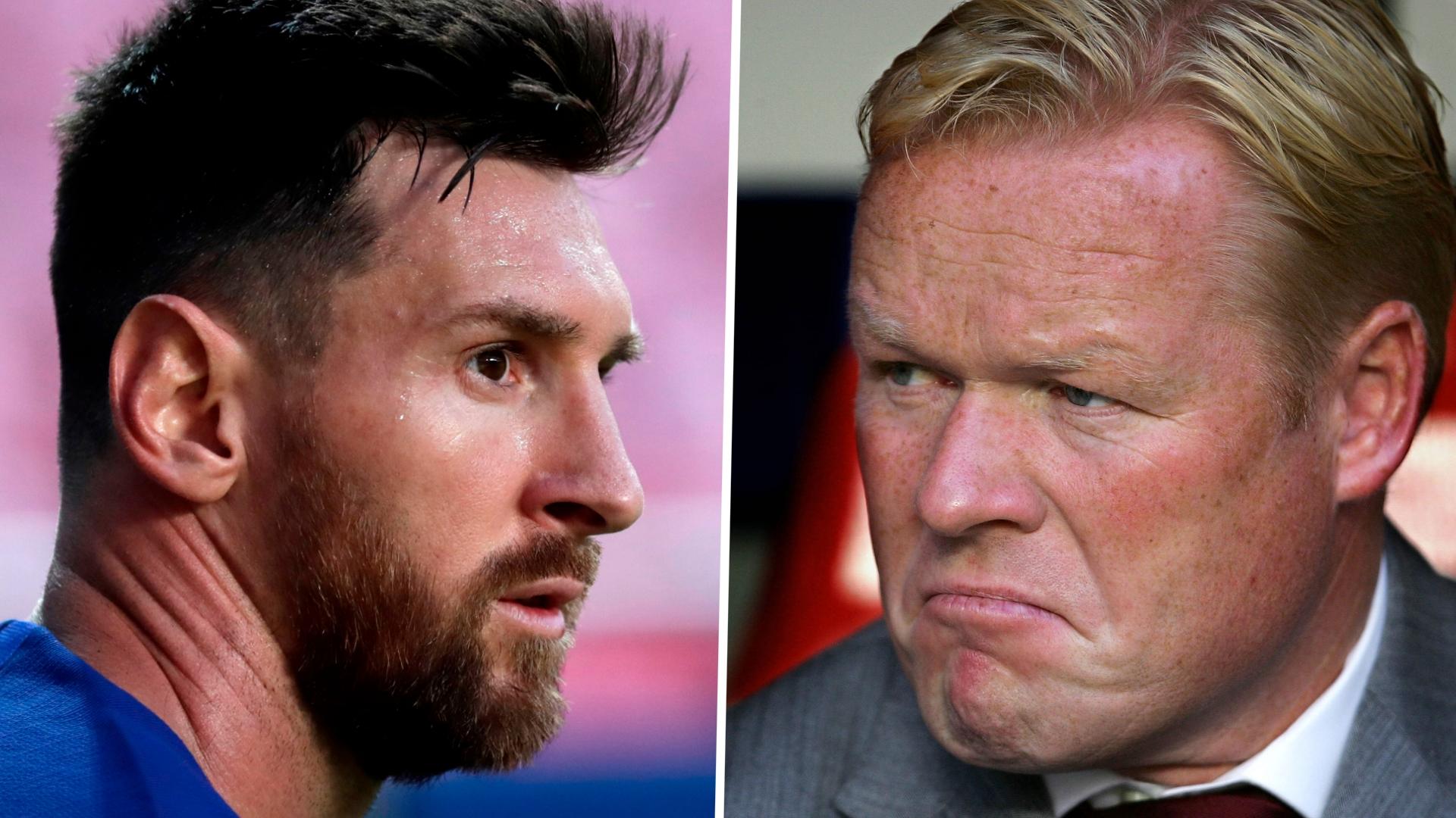Ronald Koeman Details Telling Furious Lionel Messi That Luis Suarez Was Being Sold. 46
