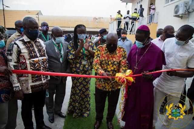 Akufo-Addo inaugurates KNUST-Obuasi campus 1
