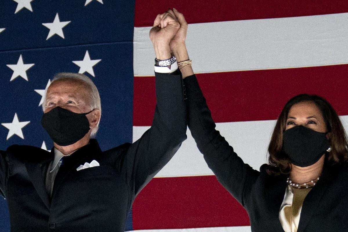 Breaking News: Joe Biden Wins Presidency. 1