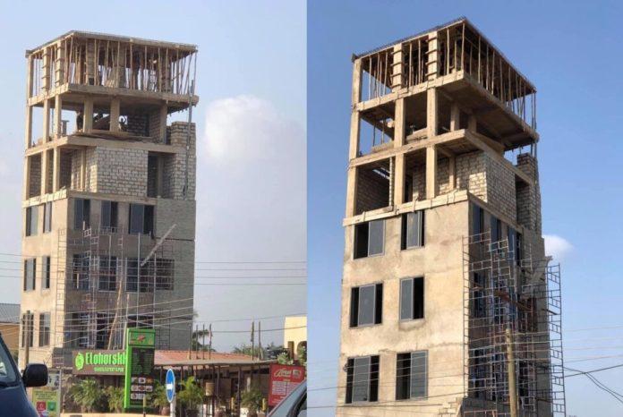 EPA Boss stops work on Ashaley Botwe's 'Tower of Babel'. 46