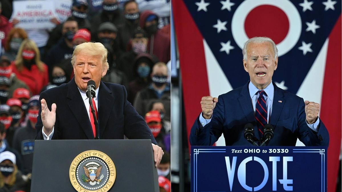 US Elections: Latest Update; Americans Choose Between Trump And Biden. 1