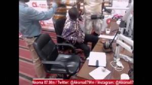 NDC's Yamoah Ponkor nearly slaps Bantama MP live on Akoma FM - [watch video]. 1