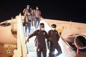 Black Stars arrives in Khartoum for Sudan clash on Tuesday (PHOTOS) 58