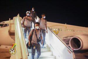 Black Stars arrives in Khartoum for Sudan clash on Tuesday (PHOTOS) 56