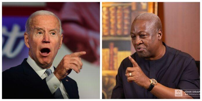 'I'm looking forward to work with you' – Mahama congratulates Biden 3