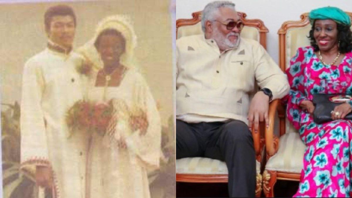 Wedding Photo Of J.J Rawlings And Nana Konadu Surface Online. 48