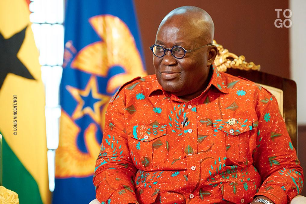 President Akufo-Addo earns chieftaincy title in Bono Region. 46