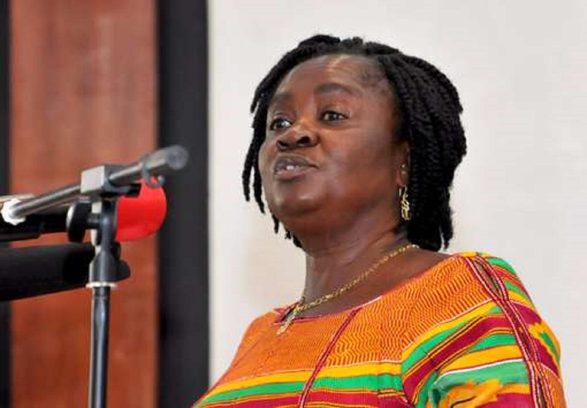 Naana Opoku-Agyeman's 'sermon' at Bishop Agyinasare's Perez Chapel. 46