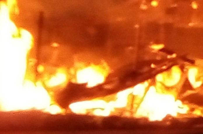 Fire ravages warehouse in Kaase in Ashanti Region 1