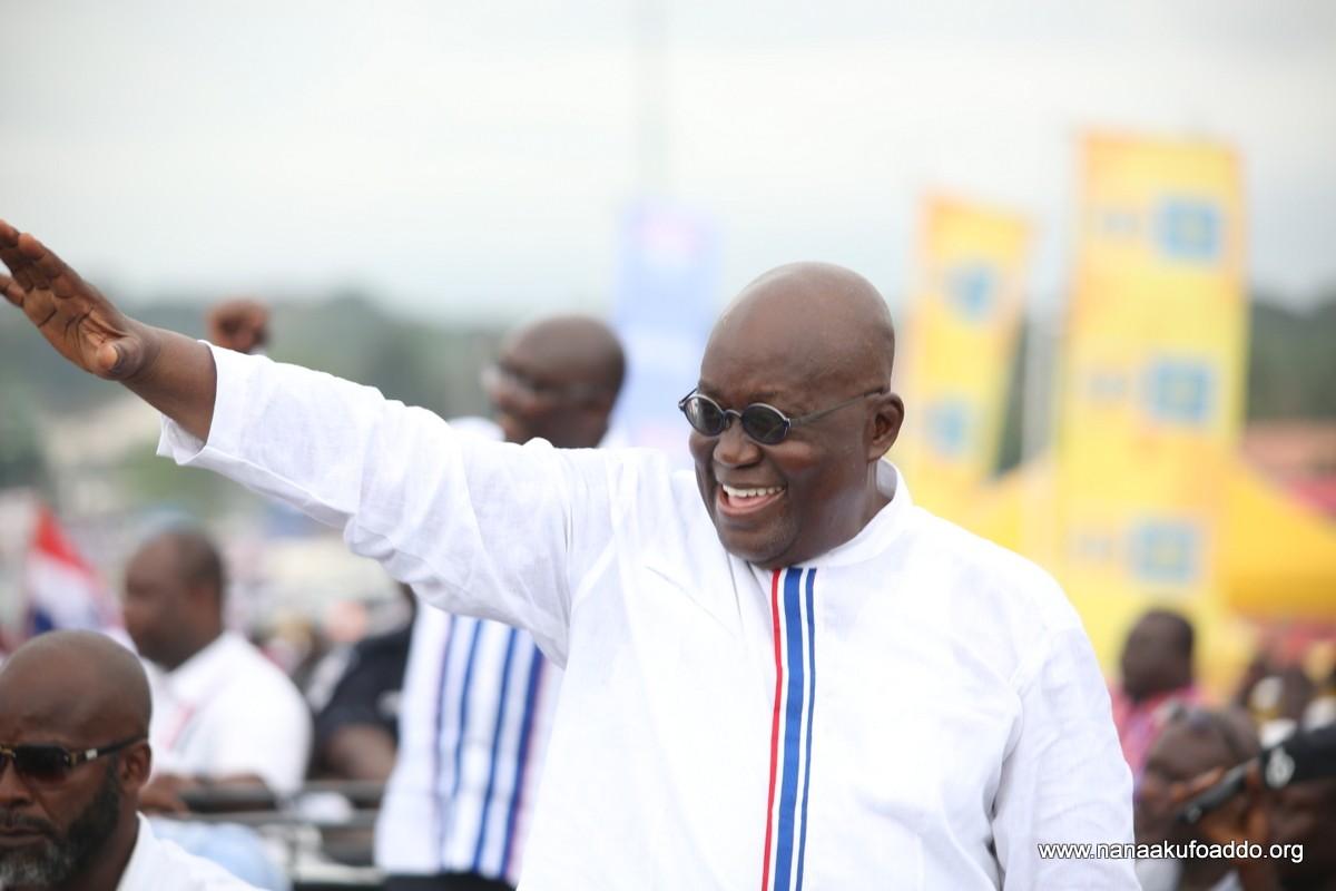 Akufo-Addo resumes campaign today, shakes Volta Region 1