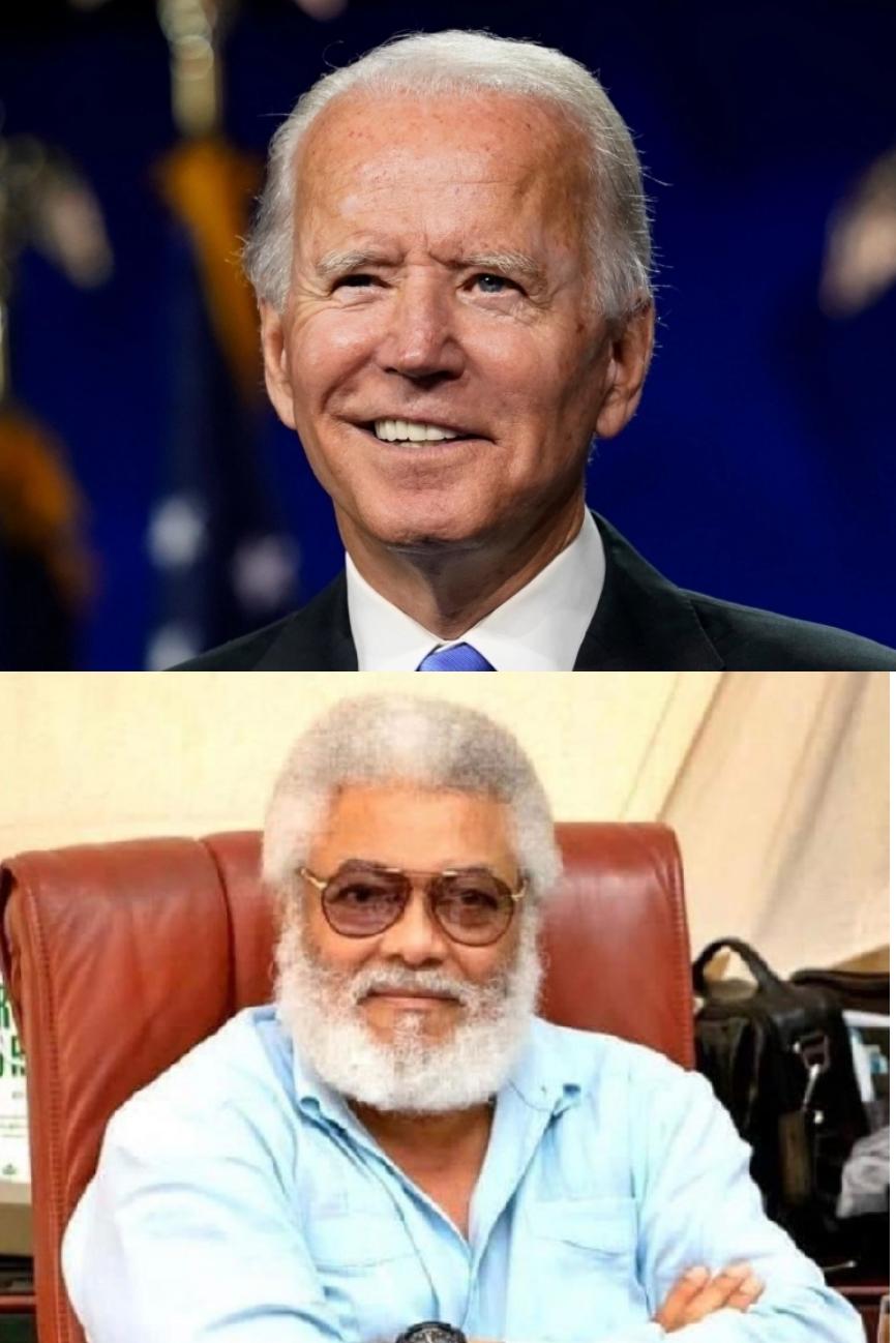 Embrace Unity, Compassion And Maturity – Rawlings Congratulates Biden 1