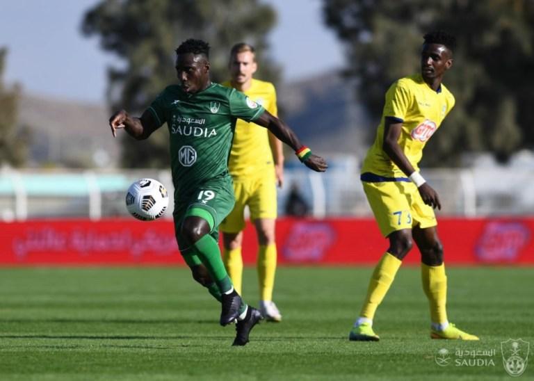 Video: Ghana's Samuel Owusu nets debut goal as Al Ahli Jeddah beat Al Ain 1