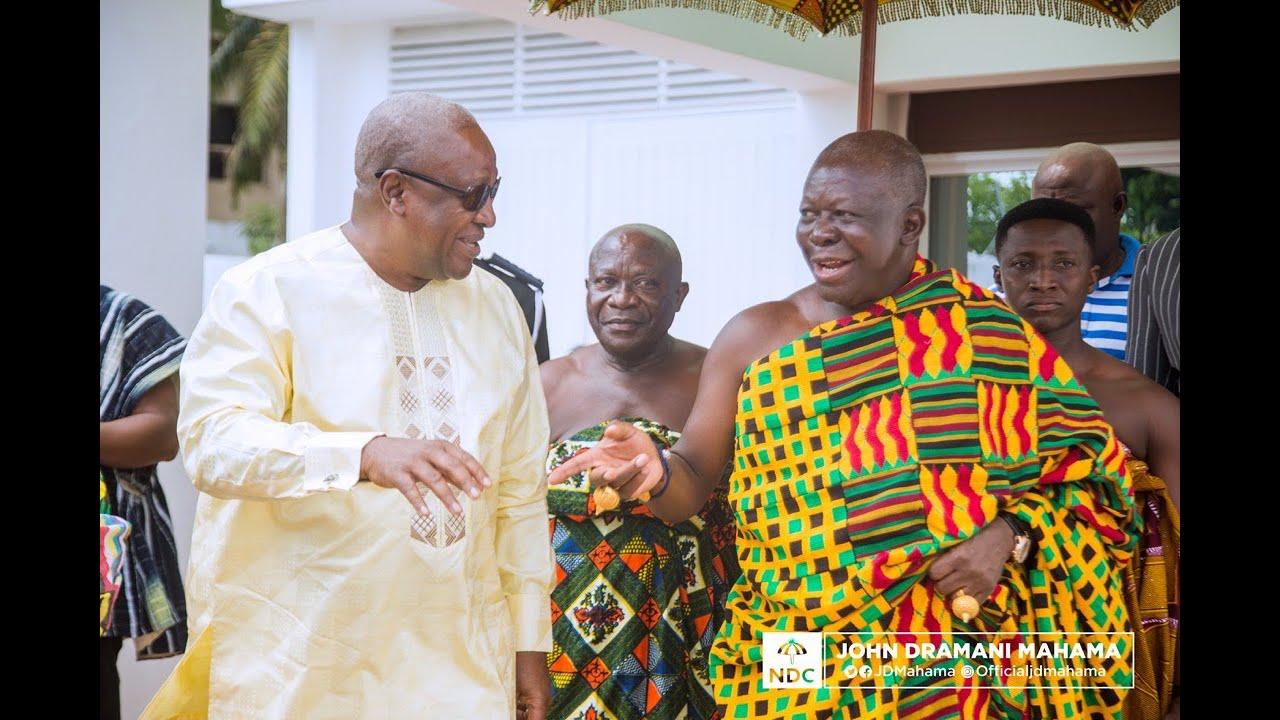 """Only God Can Make You Ghana's President Again"" – Otumfour Tells Mahama. 1"